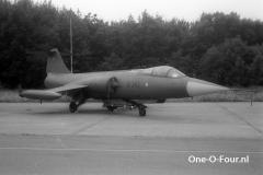 R-345 F-104G ESK726 BEVEKOM 27-06-1970
