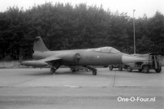 R-647 63-13647 F-104G ESK726 BEVEKOM 27-06-1970