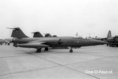 R-702 F-104G ESK726 GREENHAM 24-06-1977