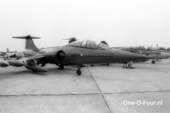 RT-682 CF-104D 726ESK GREENHAM 24-06-1977
