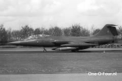 RT-682 CF-104D 726ESK LEEUWARDEN 23-04-1981