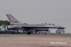 J-223 Leeuwarden 07-07-1989