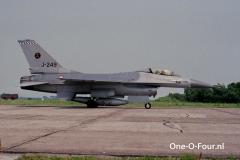 J-249 Leeuwarden 07-07-1989