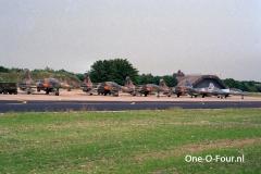 LEEUWARDEN ROTATIE 323SQN-151Filo 07-07-1989